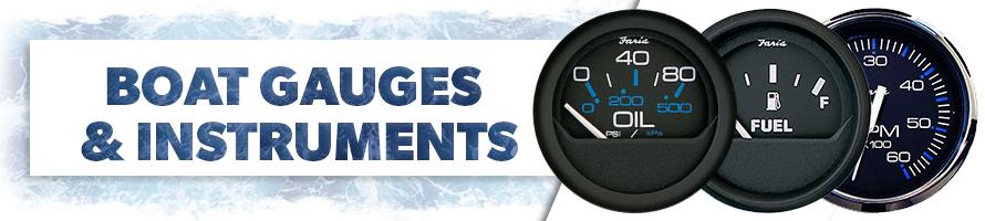 Boat Gauges & Instruments