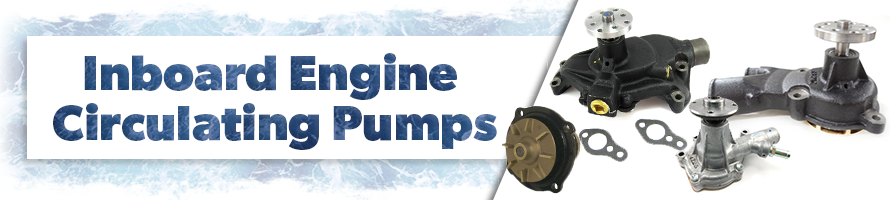 Inboard Engine Circulating Pumps