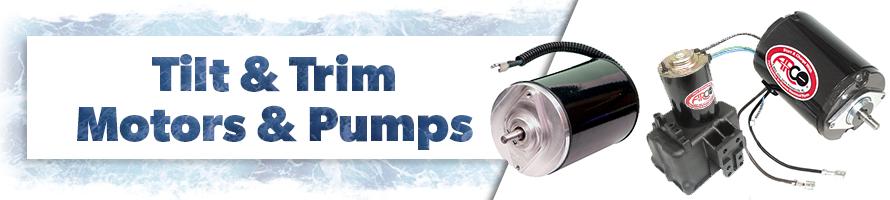 Tilt & Trim Motors & Pumps